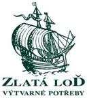 zlata_lod_logo_RGB_male.jpg - Partnerem našeho ateliéru je prodejna výtvarných potřeb v Platýzu - Zlatá loď