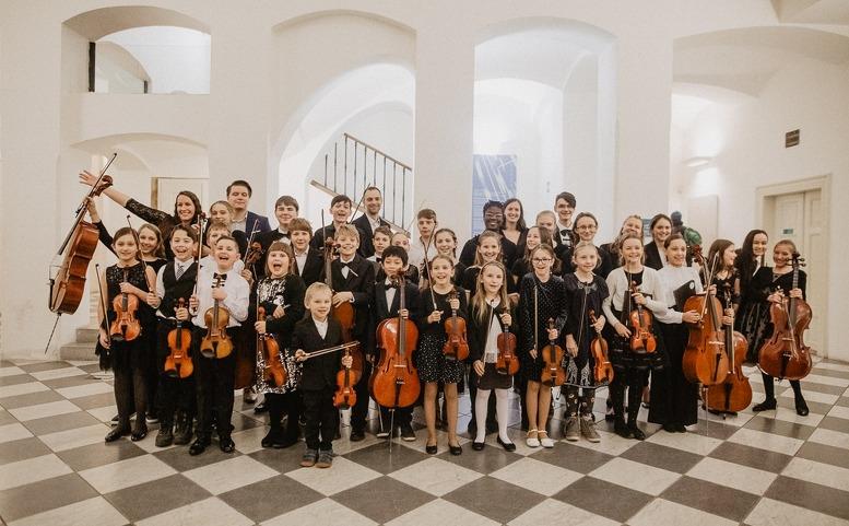 Dětský orchestr Nadačního fondu Harmonie