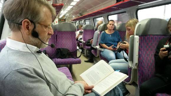 Festival autorského Čtení ve vlaku