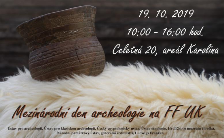 Mezinárodní den archeologie na Filozofické fakultě UK