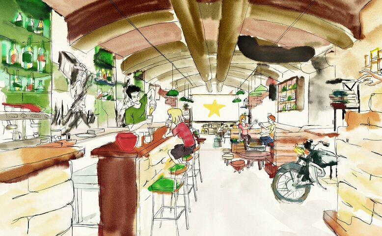 Hanoi Square Food & Coffee & Lounge