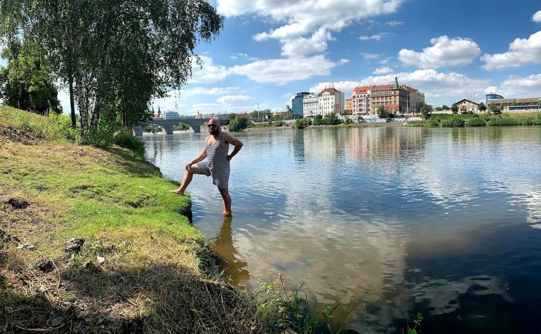 Baden Baden plovárna Štvanice