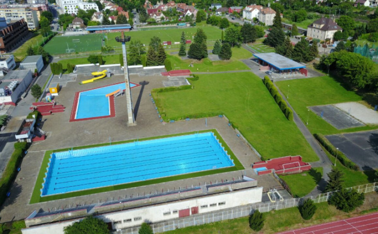 Plavecký stadion Slavia Praha