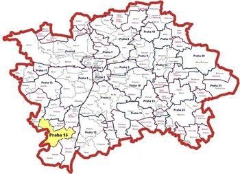 Městská část Praha 16
