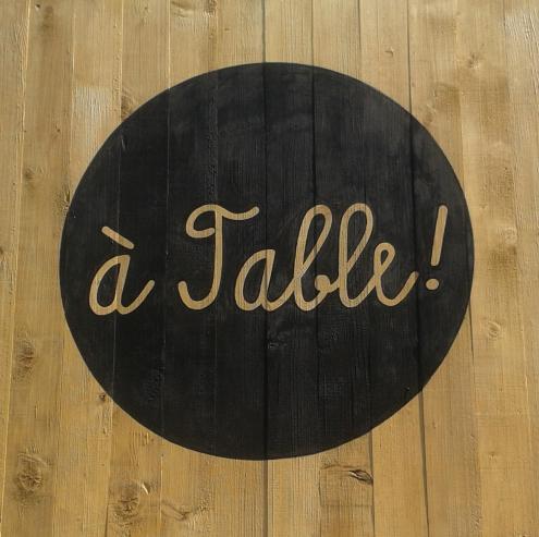 á Table!