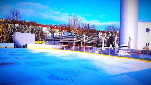 Tower Ice Park na Žižkově