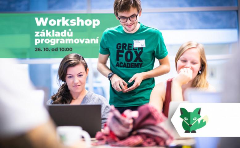 Workshop a informační schůzka k part-time kurzu