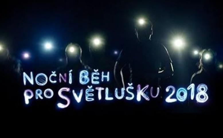 Noční běh pro Světlušku 2018
