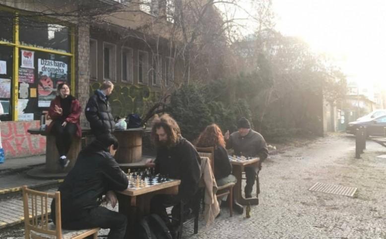 Šachový turnaj na Klinice