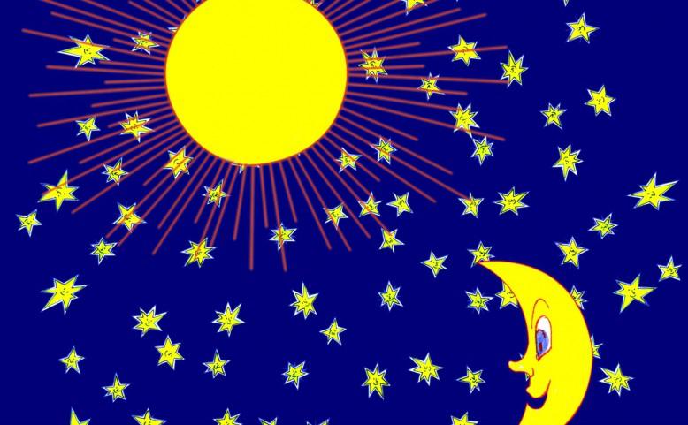 O Sluníčku, Měsíčku a hvězdičkách