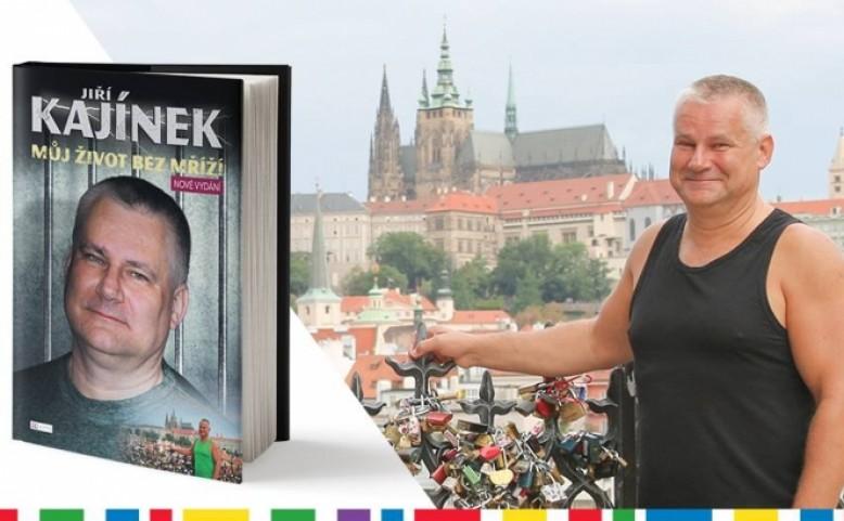 Autogramiáda s Jiřím Kajínkem ke knize – Můj život bez mříží