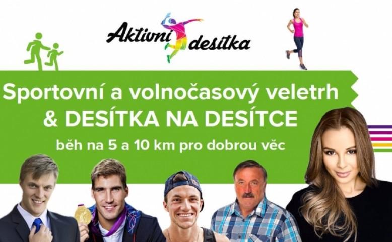 Desítka na desítce - Běh na 5km a 10km a Sportovní a volnočasový veletrh