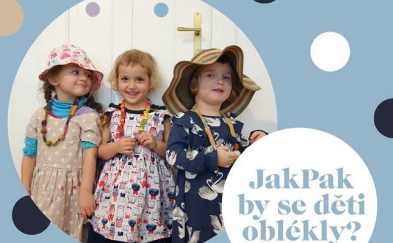 Dobročinný bazar: JakPak by se děti oblékly?