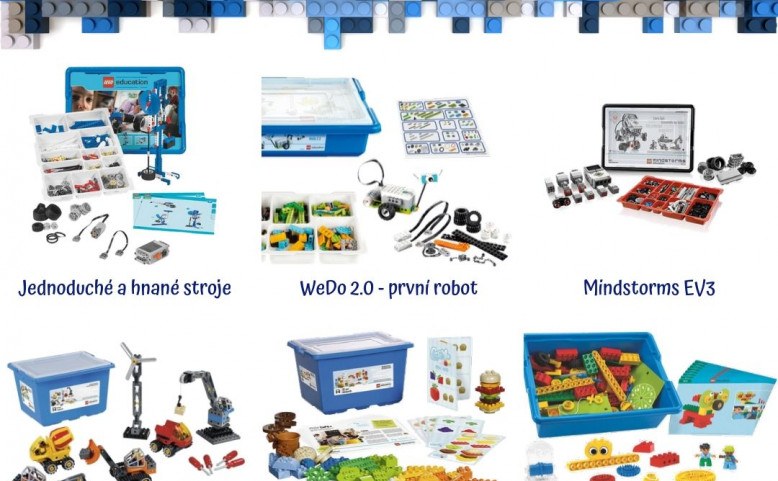 Půjčte si stavebnice Lego Education na doma