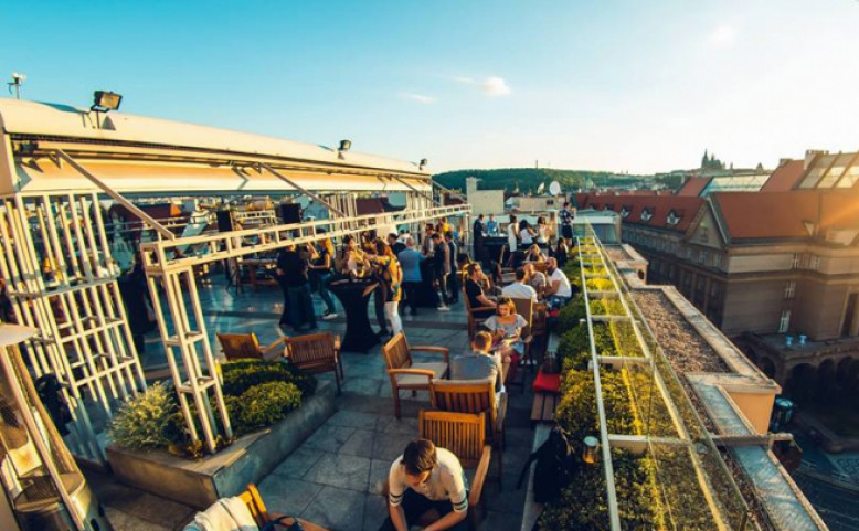 Rooftop Sunset Party