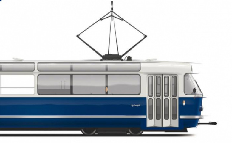Nová vyhlídková tramvaj pro Prahu T3 Coupé - mimořádné jízdy
