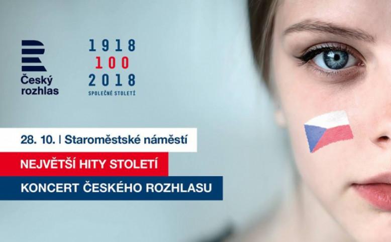 Koncert Českého rozhlasu - Největší hity století