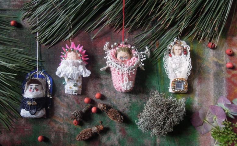Jezulátko na vánoční stromek