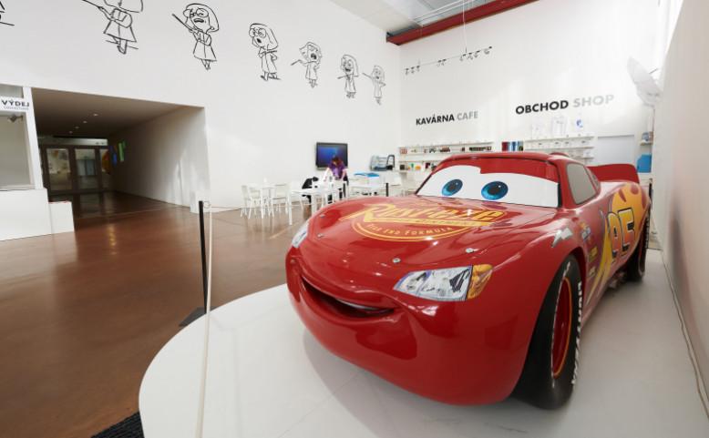 Výstava Pixar 30 let animace