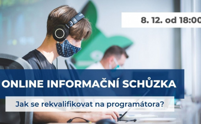 Online info schůzka: Jak se rekvalifikovat do IT?
