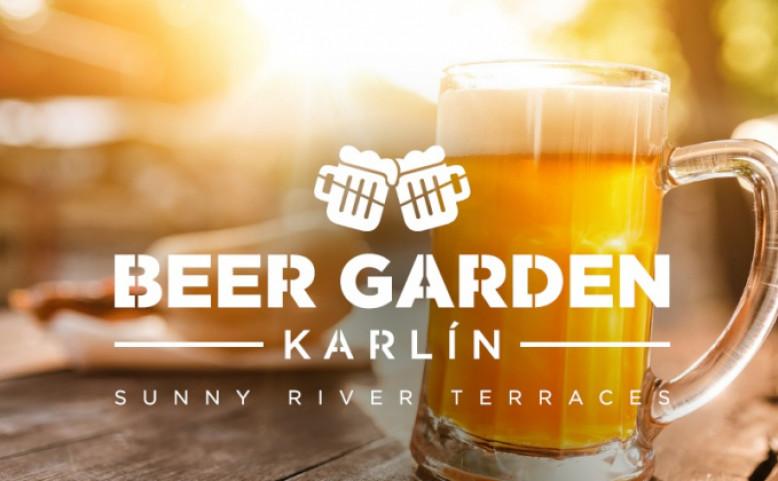 Beer Garden Karlín - otevíráme