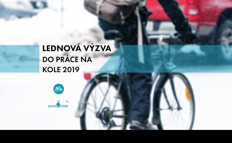 Lednová výzva - Do práce na kole