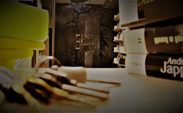 Únikovka v bibliobusu