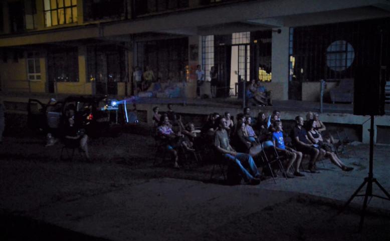 Letní kino na Pragovce: Spalovač mrtvol