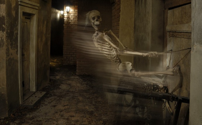 Pátek třináctého v muzeu strašidel aneb Muzeum potmě
