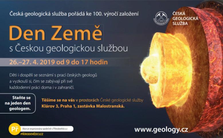 Den Země s Českou geologickou službou