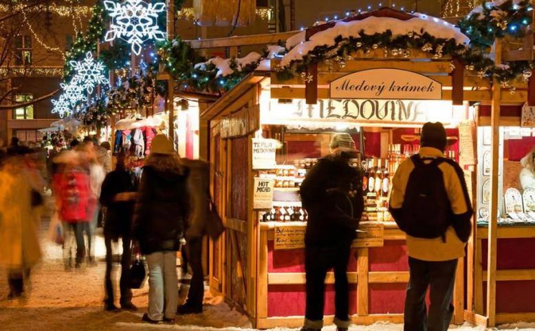 Vánoční trhy na Náměstí repubiky