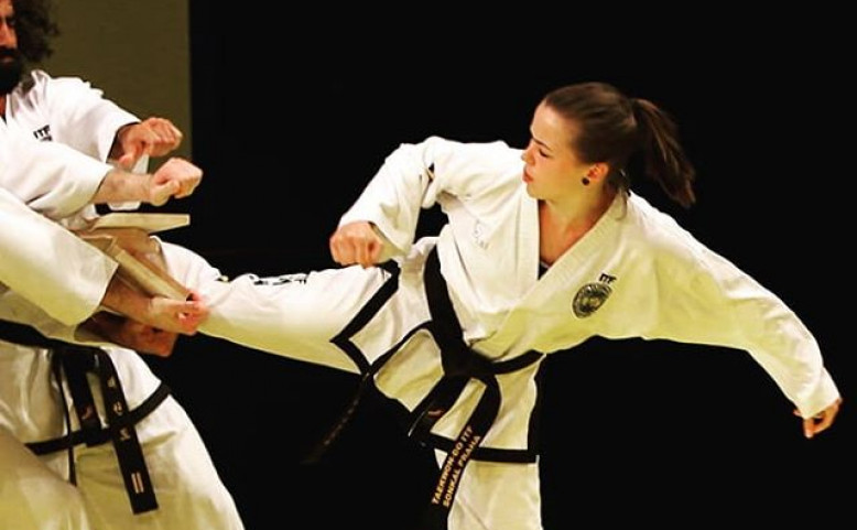 Exhibice taekwon-do