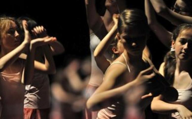 Vystoupení tanečního oboru ZUŠ Klapkova