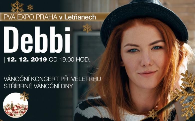 Vánoční koncert Debbi při veletrhu STŘÍBRNÉ VÁNOČNÍ DNY