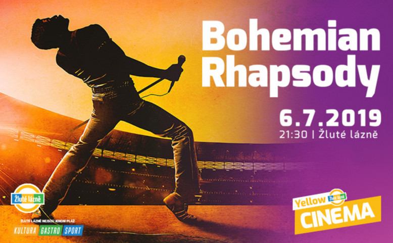 Letní kino Yellow Cinema - Bohemian Rhapsody