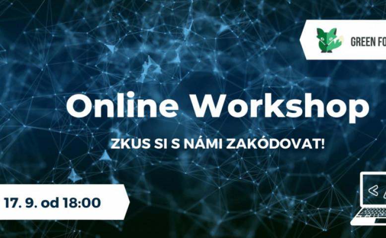 Online workshop: Základy programování