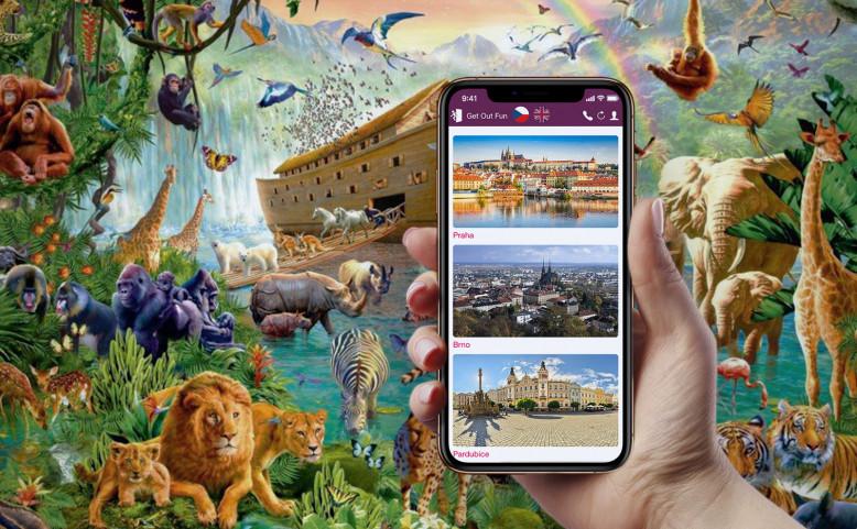 Venkovní úniková hra: Pražská Zoo - Noemova archa