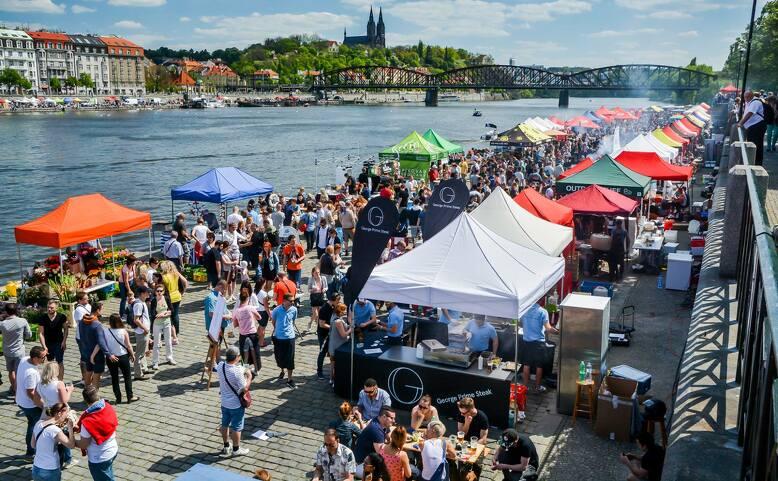Letní street food