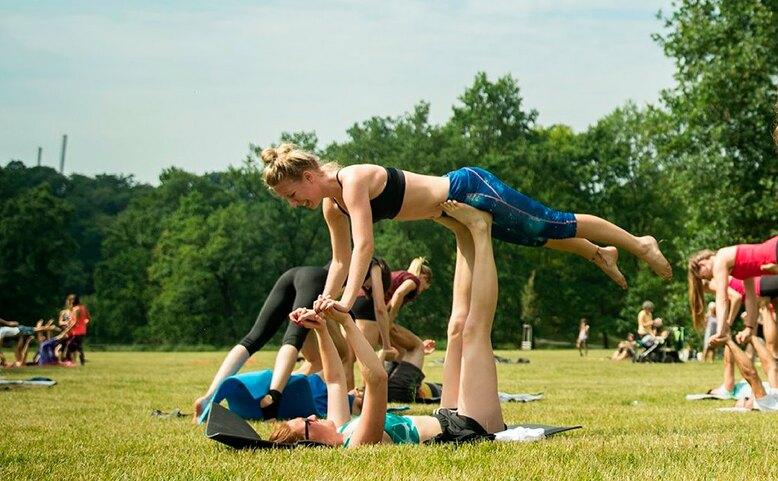 Workshop párové akrobacie