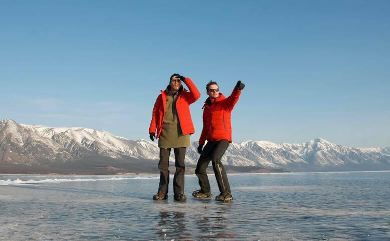 Pěšky přes zamrzlý Bajkal   Diáky