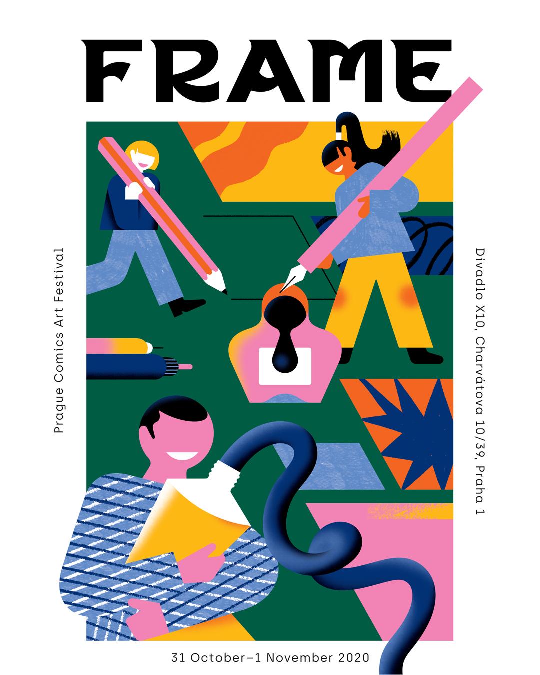 Frame Prague Comics Art Festival | ONLINE