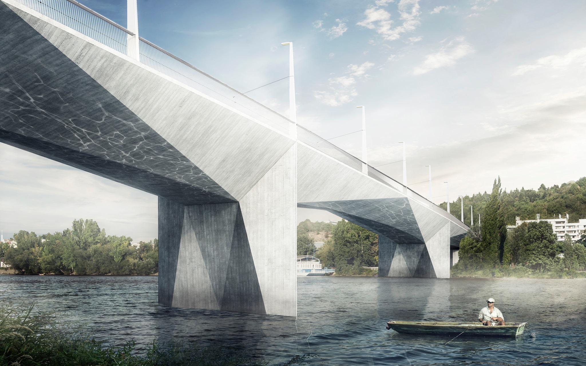 Praha zítra: Dvorecký most - online
