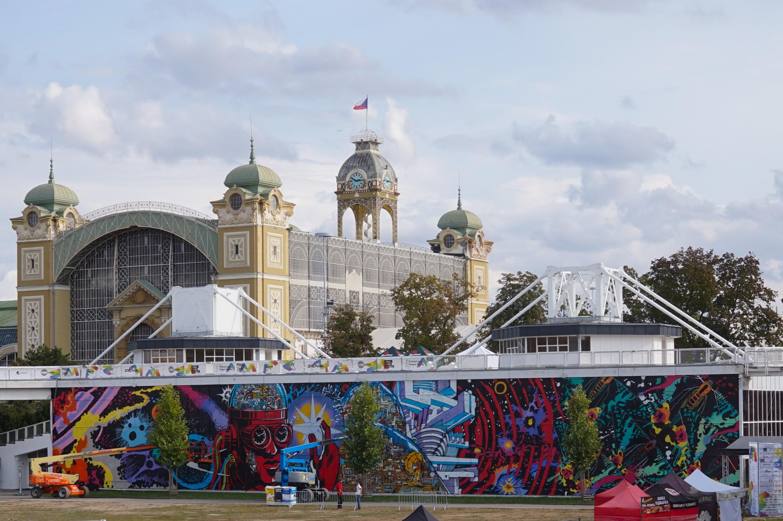 Mural na Výstavišti
