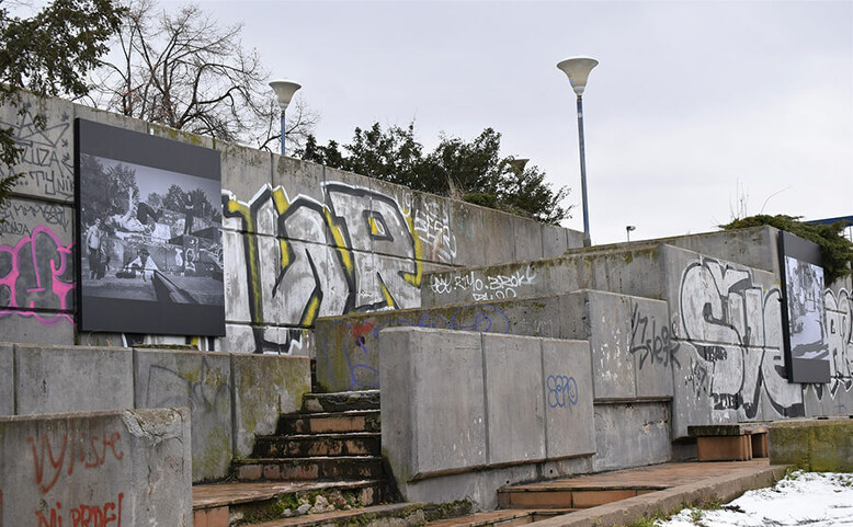 Venkovní výstava Lidé z Vltavské