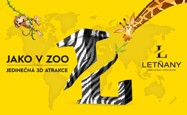 3D ZOO OC Letňany