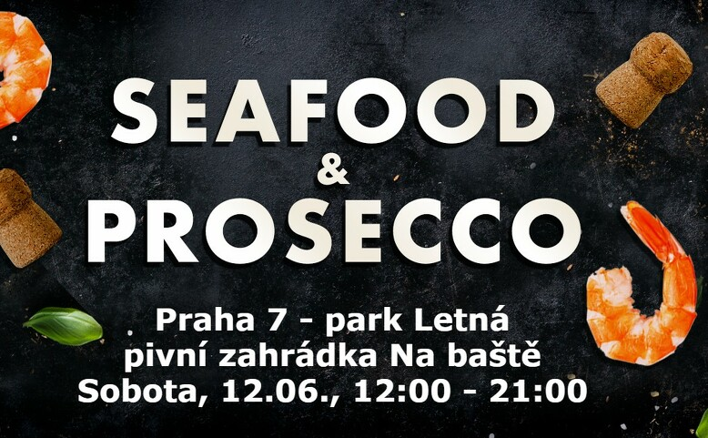 Seafood & prosecco Letná