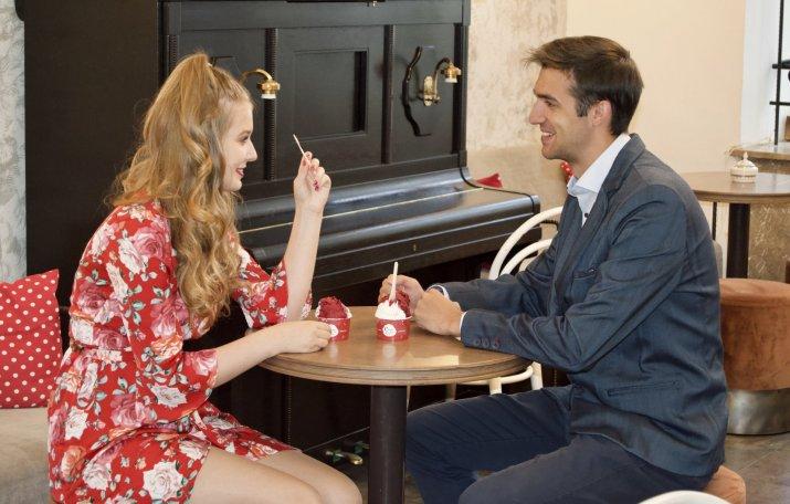 Speed dating s degustací zmrzliny