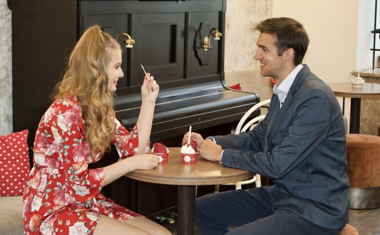 Speed dating se zmrzlinou