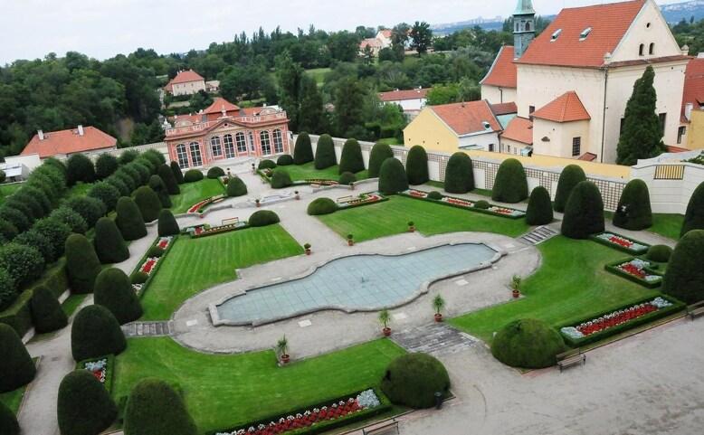 Otevřené zahrady Černínského paláce