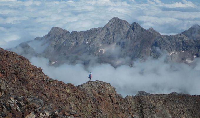 Z vrcholů Pyrenejí